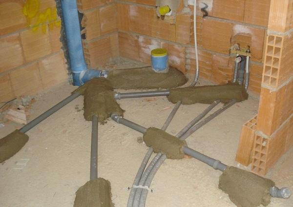 Ristrutturazione bagno brianza impresa edile edil taccone - Asciugatura massetto per piastrelle ...