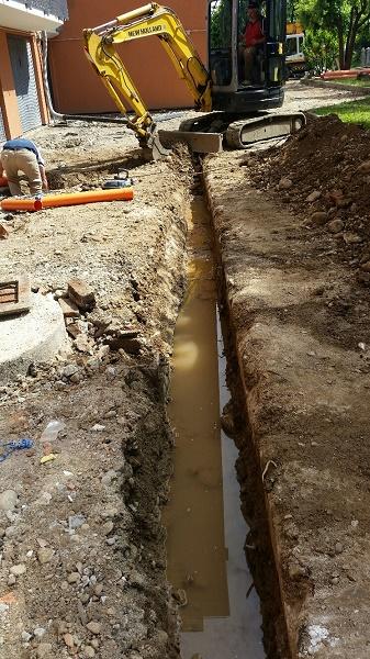scavo fognatura 4